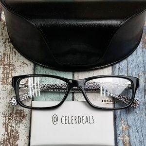 Coach HC6052 5214 Fannie Acetate Eyeglasses/VIE116